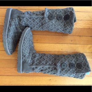 Sweater Knit Ugg boots